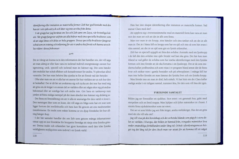 100 samtal med Claes – uppslag