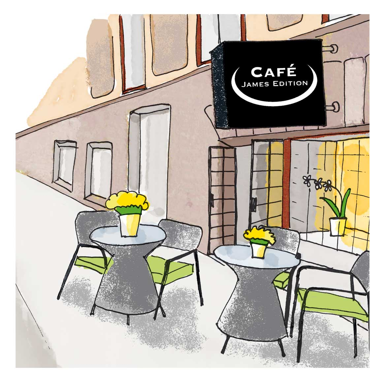 Café James Edition sommar