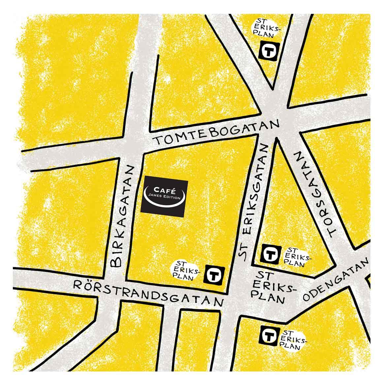 Café James Edition karta